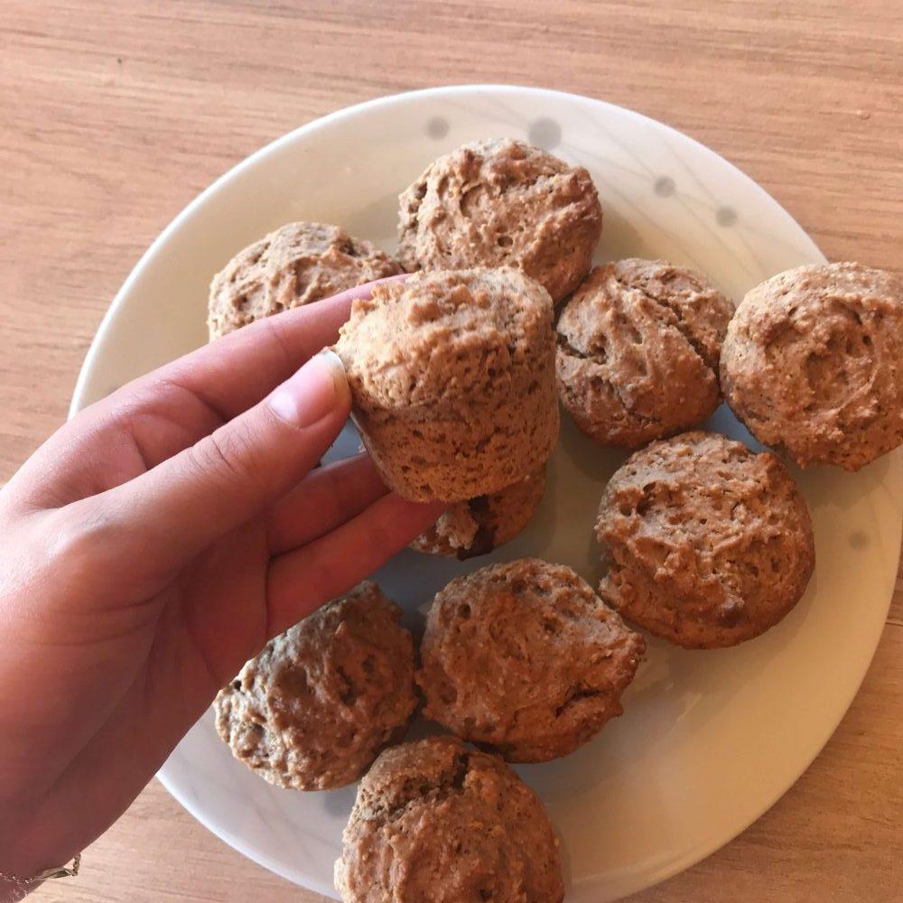 Muffin aux amandes Vegan (Recette)