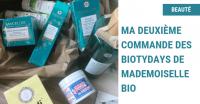 Ma deuxième commande des Biotydays de Mademoiselle Bio
