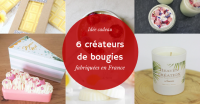 [Idée cadeau] – 6 créateurs de bougies fabriquées en France