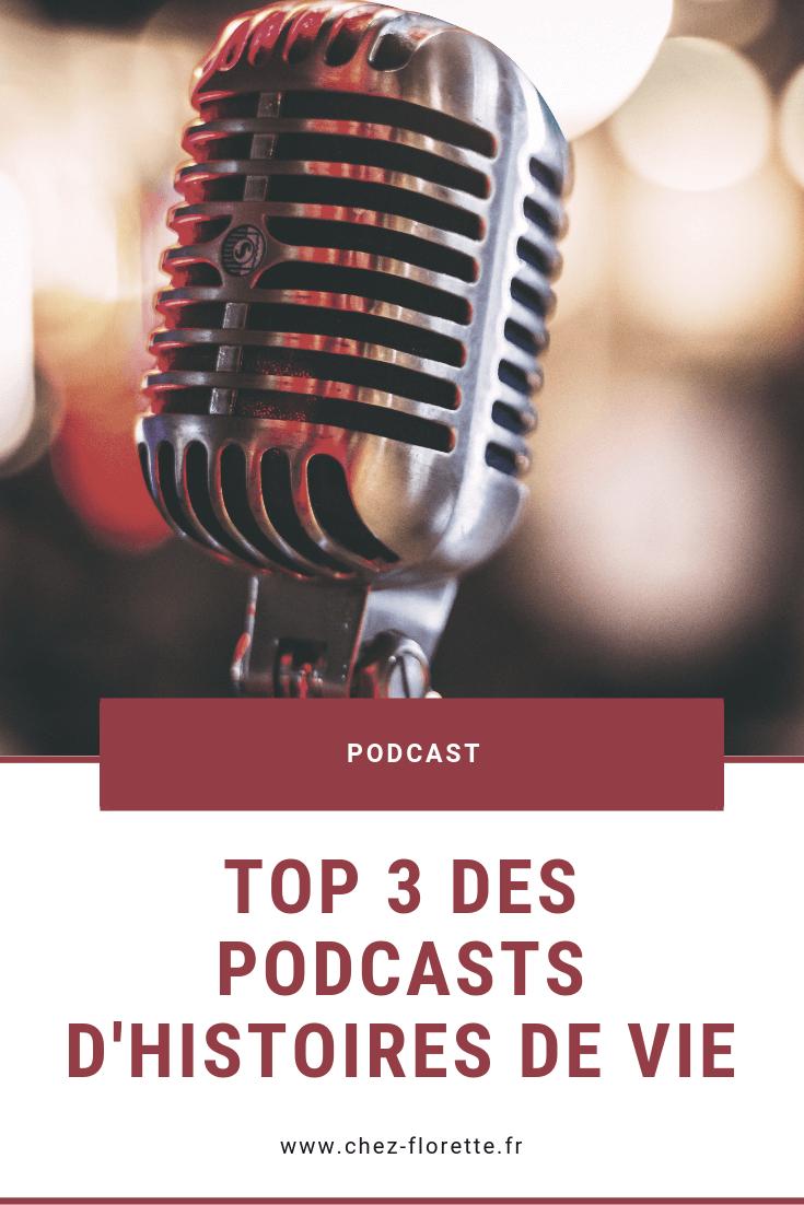 Top 3 des podcasts d'histoires de vie - Pinterest
